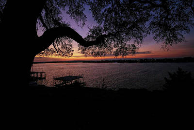 Pittsburgh According To Ron Magnes - Lake Granbury Sunrise by Judy Vincent