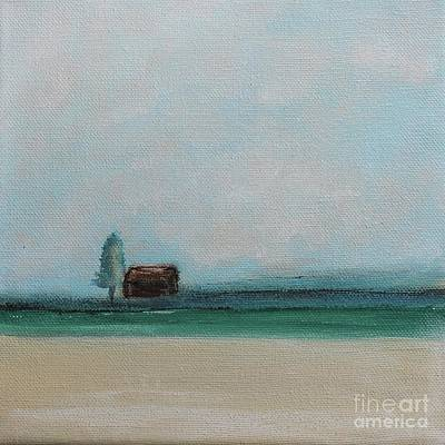 Painting - Lake House by Kim Nelson