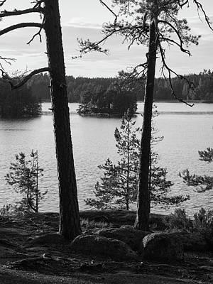 Amy Weiss - Lake Matilda in bw. Teijo National Park by Jouko Lehto