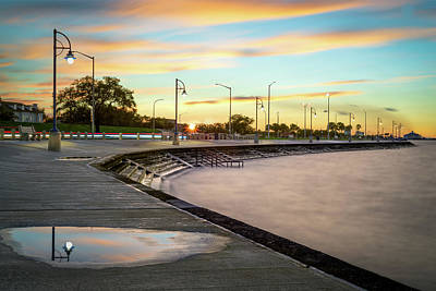 Photograph - Lake Pontchartrain at Sunset by Chase This Light Photography