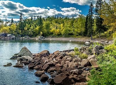 Photograph - Lake Superior Cove by Susan Rydberg