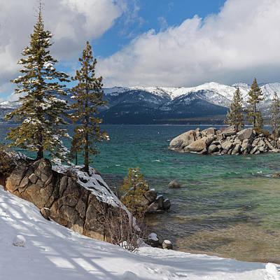 Photograph - Lake Tahoe Winter Wonderland by Cliff Wassmann