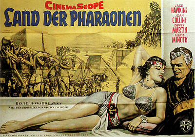 Royalty-Free and Rights-Managed Images - Land of the Pharaohs, with Joan Collins, 1955 by Stars on Art