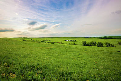 David Bowie - Land of the Tallgrass - Spring in the Kansas Flint Hills by Southern Plains Photography