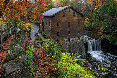 Photograph - Lantermans Mill by Sebastian Musial