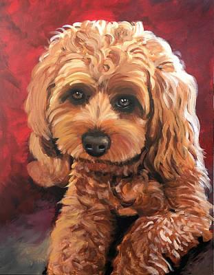 Painting - Dog by Robert Korhonen