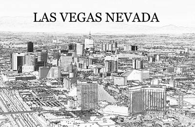Featured Tapestry Designs - Las Vegas city work A by David Lee Thompson