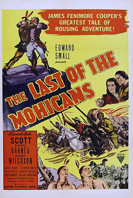 Personalized Name License Plates - Last of the Mohicans, with Randolph Scott, 1936 by Stars on Art