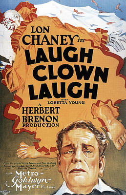 Royalty-Free and Rights-Managed Images - Laugh Clown Laugh, with Lon Chaney, 1928 by Stars on Art