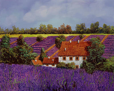Sean - Lavanda Tra Le Colline by Guido Borelli