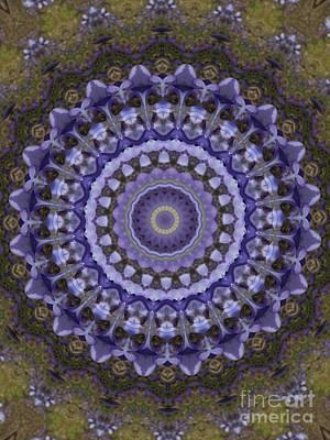 Soap Suds - Lavender Design I by Karen Tauber