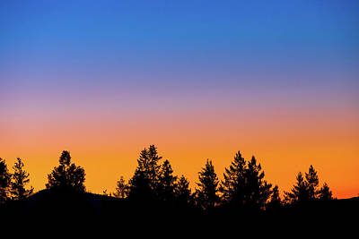 Royalty-Free and Rights-Managed Images - Layered Sunset by Brian Knott Photography