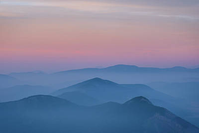 Lovely Lavender - Layers of Colors Sunrise, Canandian Rockies by Yves Gagnon