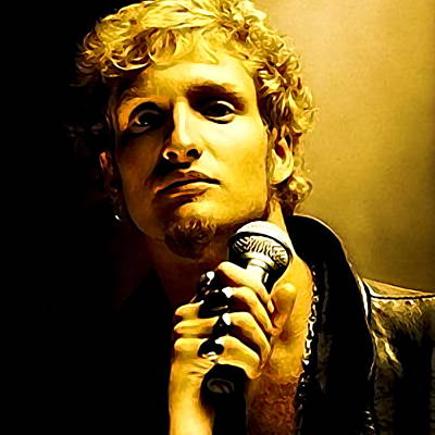 Recently Sold - Music Paintings - Layne Staley Portrait by Artista Fratta