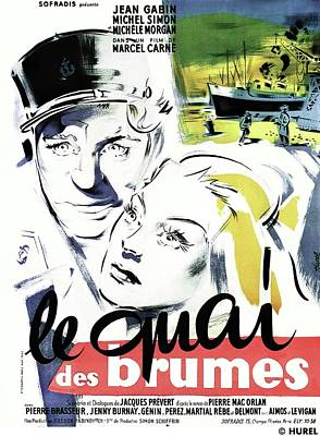 Royalty-Free and Rights-Managed Images - Le Quai Des Brumes - 1938 by Stars on Art