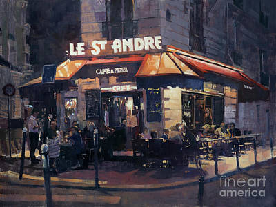 Painting - Le Saint Andre by Patrick Saunders