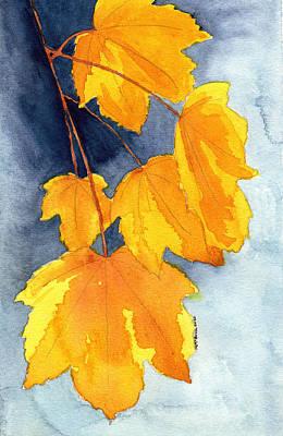 Keith Richards - Leaf Peeper Days by Margaret Bucklew
