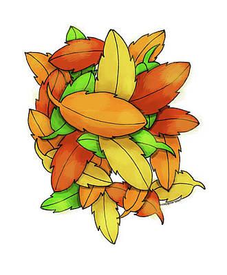 Pasta Al Dente - Leaf Peeper View by Margaret Bucklew