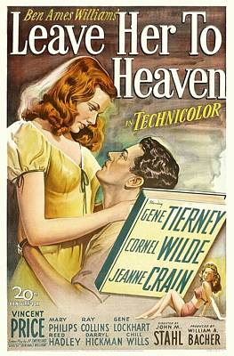 Royalty-Free and Rights-Managed Images - Leave Her to Heaven, 1945 by Stars on Art
