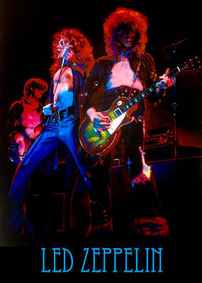 Pastel - Led Zeppelin by Robert Korhonen