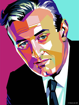 Pop Art Rights Managed Images - Lee J. Cobb Royalty-Free Image by Stars on Art