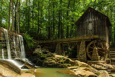 Giuseppe Cristiano Royalty Free Images - Lefler Grist Mill Royalty-Free Image by Mitch Shindelbower