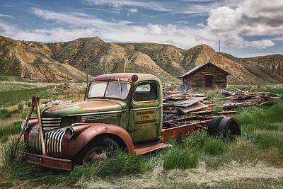 Car Photos Douglas Pittman - Left the Farm Behind by Darren White