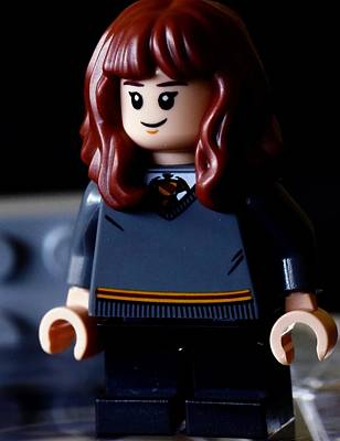 Rights Managed Images - Lego Hermione Granger Royalty-Free Image by Neil R Finlay