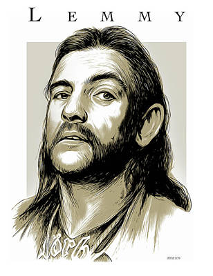 Drawings Rights Managed Images - Lemmy2 Royalty-Free Image by Greg Joens