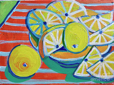 Lovely Lavender - Lemon Zest by Debra Bretton Robinson