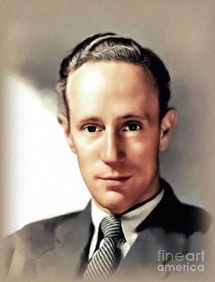 Royalty-Free and Rights-Managed Images - Leslie Howard, Vintage Actor by John Springfield
