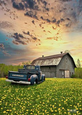 Photograph - Lester River Road Barn by Joe Polecheck