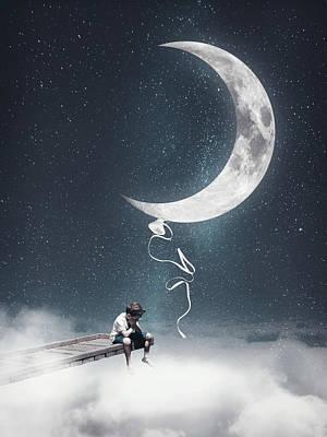 Surrealism Digital Art - Let it go by Mihaela Pater