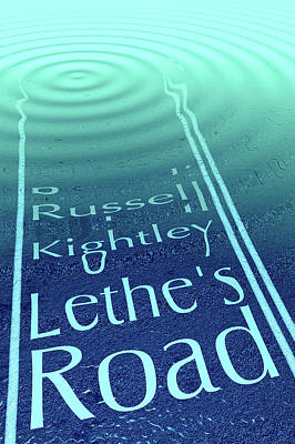 Digital Art - Lethe's Road Book Cover by Russell Kightley