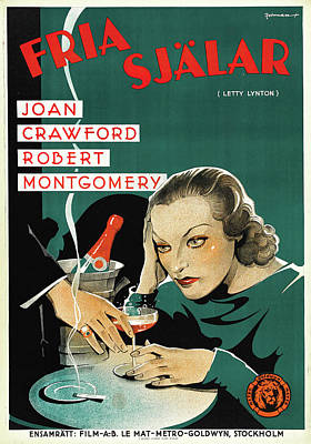 Royalty-Free and Rights-Managed Images - Letty Lynton, with Joan Crawford, 1932 by Stars on Art