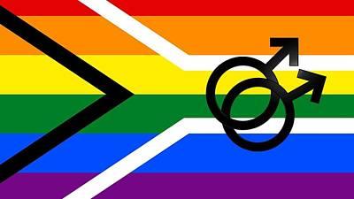 Mixed Media - LGBTQ Symbols by Nancy Wyatt and JaneB and Kurious