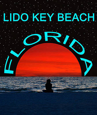 Aretha Franklin - Lido Key Beach Dream Beach by David Lee Thompson