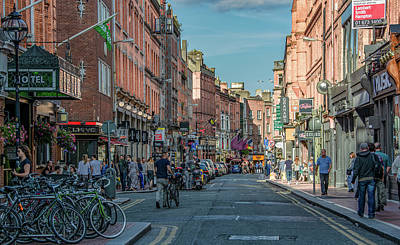 Photograph - Life in Dublin, Ireland by Marcy Wielfaert