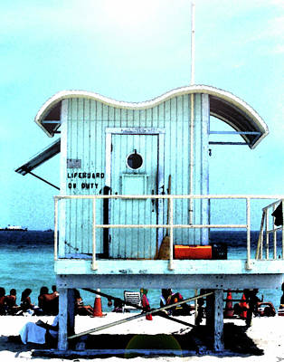Studio Grafika Typography - Lifeguard on duty by David Lee Thompson