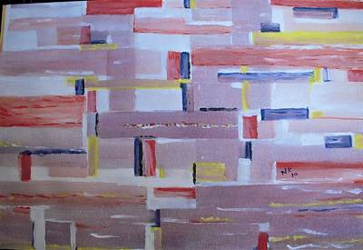Painting - Light And Windows by Naini Kumar