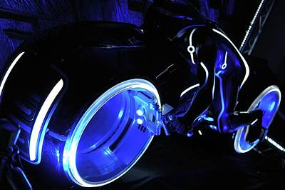 Photograph - Light Cycle by Matthew Nelson