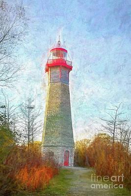 Classic Golf - Lighthouse by Helen Filatova