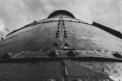 Photograph - Lighthouse Rivets by Carl Simmerman