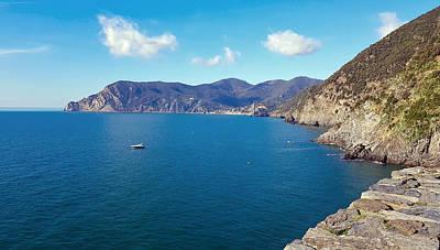 Sheep - Ligurian Sea by Valentino Visentini