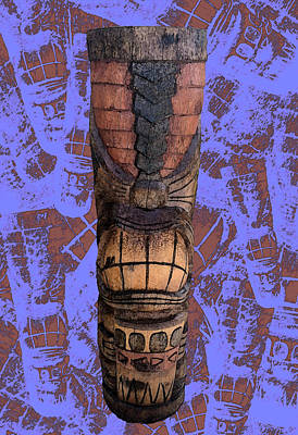 Whimsically Poetic Photographs Rights Managed Images - Lil Drummer Tiki - PFunk BG Royalty-Free Image by Anthony Jones