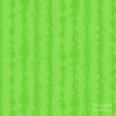 Royalty-Free and Rights-Managed Images - Lime Green Stripe Abstract by Amanda Lakey