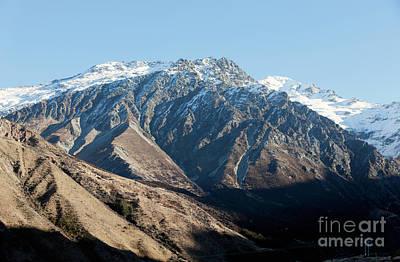 Photograph -  Lindis Pass, South Island, New Zealand by John Gaffen