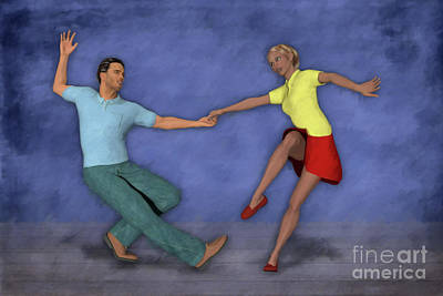 Royalty-Free and Rights-Managed Images - Lindy Hop by John Edwards