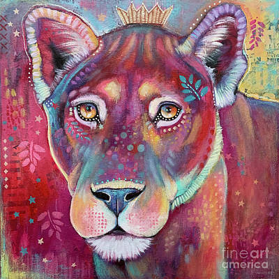 Royalty-Free and Rights-Managed Images - Lioness by Stephanie Gerace
