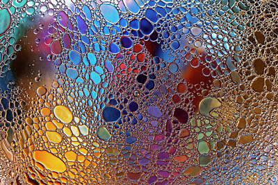 Wilderness Camping - Liquid Patterns 1 by Rico Besserdich
